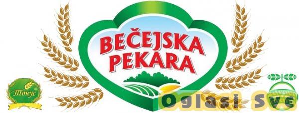 Pekara AD Bečej zapošljava pekare i vozače