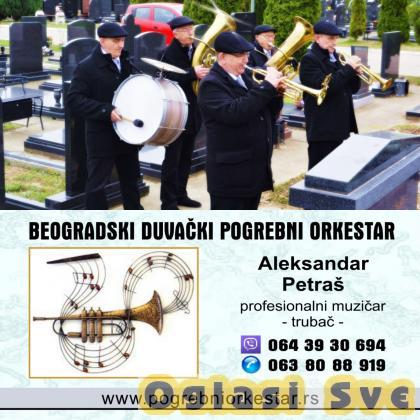 Pogrebni orkestar trubači bleh muzika  za sahrane Beograd