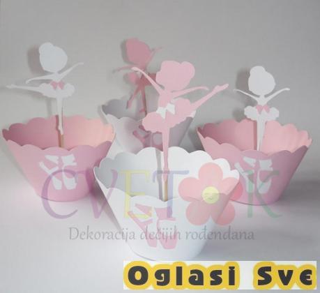 Cvetak - dekoracija dečijih rođendana