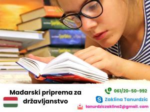 Madjarski preko Skype, priprema za državljanstvo