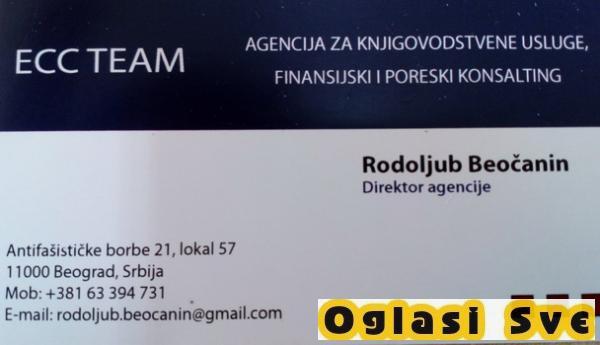 ECC TEAM Agencija za knjigovodstvene usluge, finansijski i poreski konsalting