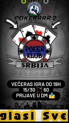 Promovisemo aplikaciju za online igranje pokera...