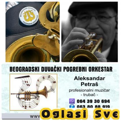 Solo truba,violina,hor,orkestar sahrane pogrebi