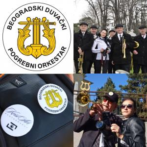 Zvanični pogrebni orkestar trubači bleh muzika  za sahrane Beograd